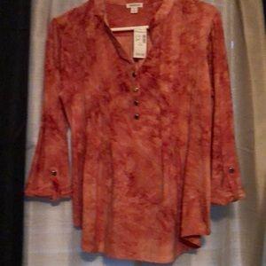New 3/4 sleeve blouse